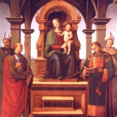 Pietro_Perugino_Virgin_Mary_and_Saints