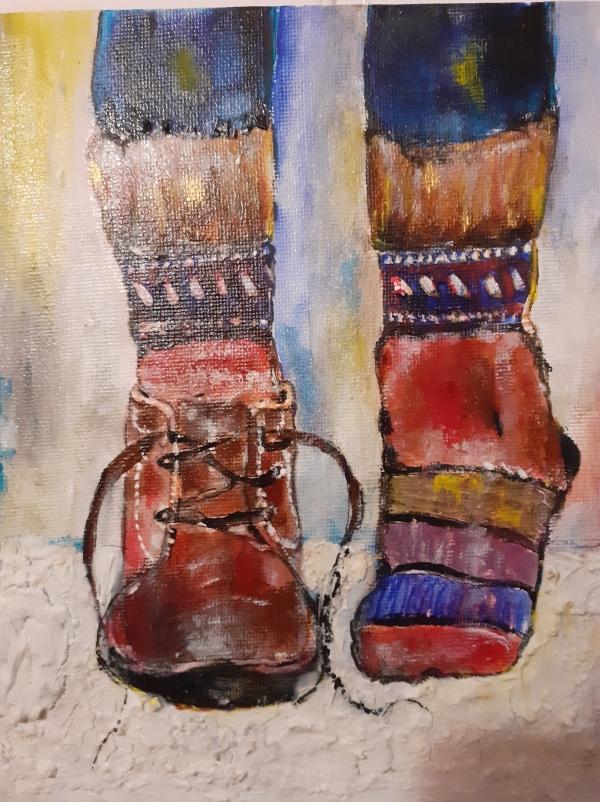 lucrați de acasă prin pictura